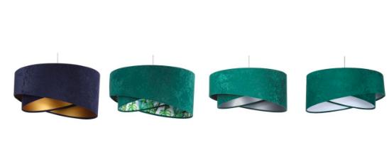 welurowa lampa macodesign